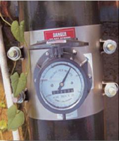 Clamp-on flow meter