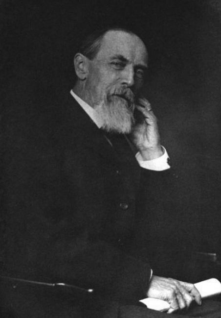 Portrait of Eugene W. Hilgard. Wikipedia.