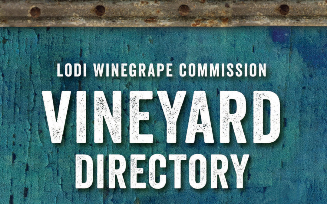 2019 VINEYARD SUPPLIER DIRECTORY COMING SOON