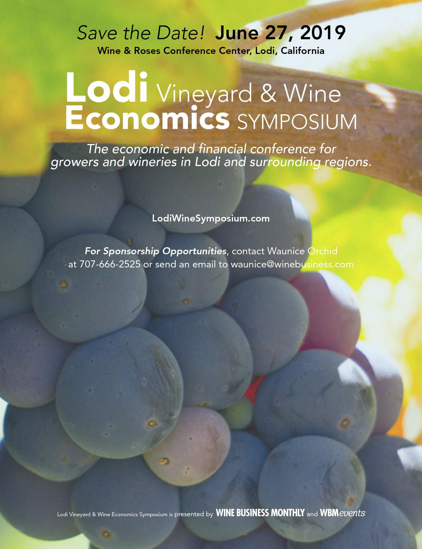 LODI VINEYARD & WINERY ECONOMICS SURVEY