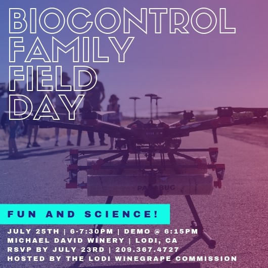 BIOCONTROL FAMILY FIELD DAY (at night!)