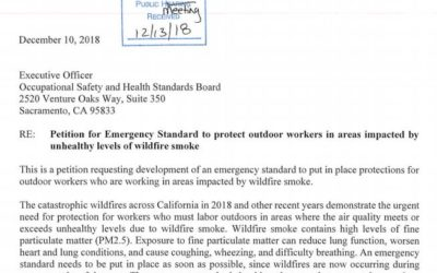 EMERGENCY WILDFIRE SMOKE REGULATION ADOPTED