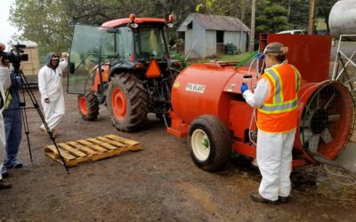ONLINE AIR BLAST SPRAYER CALIBRATION COURSE NOW AVAILABLE
