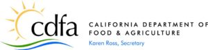 This is the logo of CDFA and their letterhead used in the original of this report